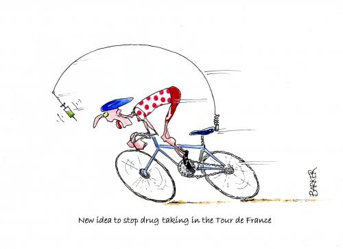 Tour de France - stopping drugs