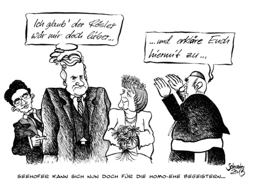 Cartoon horst seehofer kann sich medium by mario schuster tagged