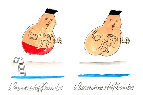 Cartoon: Nordkorea hat getestet (medium) by Mario Schuster tagged nordkorea,karikatur,cartoon,mario,schuster