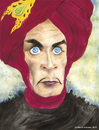 Cartoon: Conrad Veidt Thief of Bagdad (small) by Mario Schuster tagged conrad,veidt,dieb,von,bagdad,thief,of,karikatur,cartoon,mario,schuster,sabu