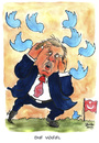 Cartoon: Erdogan (small) by Mario Schuster tagged kariatur,cartoon,mario,schuster,türkei,erdogan,twitter