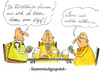 Cartoon: Flüchtlingsdiskussion (small) by Mario Schuster tagged flüchtlinge,deutschland,karikatur,cartoon,mario,schuster