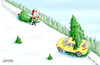 Cartoon: Christmas Tree Hunting (small) by karlwimer tagged christmas,tree,humor,axe,holiday,tradition