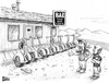 Cartoon: Create Your Own Caption Contest (small) by karlwimer tagged bowtie,segway,biker,bar,motorcycles
