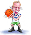 Cartoon: Dick Monfort Basketball Steam (small) by karlwimer tagged basketball,sports,fan,anger