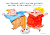 Cartoon: Dickes Glück (small) by droigks tagged brutto,netto,hebbel,spruch,fett,liebe,dick,dicke,love,fat,droigk,droigks