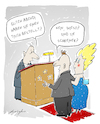 Cartoon: Restaurantbesuch beim Tischler (small) by droigks tagged cartoon,michelin,stern,droigks,kochen,trinken,speisen,sternekueche,restaurant,dinner,abendessen