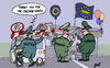 Cartoon: New era of Schengen (small) by Ballner tagged schengen