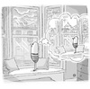 Cartoon: birdbee - rain (small) by birdbee tagged birdbee rain indoors imagine