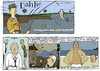 Cartoon: gentlemans guide (small) by marco petrella tagged fishing,writers,new,york