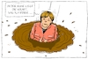 Cartoon: merkel nach der wahl (small) by leopold maurer tagged merkel,bundestagswahl,niederlage,verlust,afd,braun,sumpf,regungslosigkeit,deutschland,kanzlerin