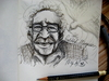 Cartoon: Gabriel Garcia Marquez (small) by Mineds tagged gabriel,garcia,marquez