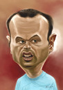 Cartoon: Iniesta (small) by Jiwenk tagged iniesta