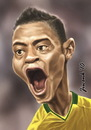 Cartoon: Michel Bastos (small) by Jiwenk tagged michel,bastos