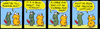 Cartoon: Urban Gerbils (small) by Danno tagged comic strip cartoon humor funny traditional art