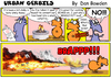 Cartoon: urban gerbils. campfire (small) by Danno tagged cartoon comic strips funny humor gerbils traditional mixed media campfire