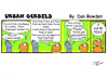 Cartoon: URBAN GERBILS. Peas (small) by Danno tagged urban,gerbils,cartoon,comic,strip,funny,published,weekly,newspaper,humor