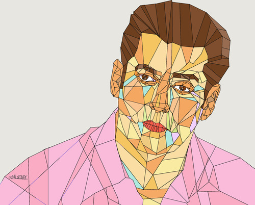 Cartoon: Salman Khan (medium) by omar seddek mostafa tagged salman,khan