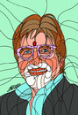 Cartoon: Amitabh Bachchan 2 (small) by omar seddek mostafa tagged amitabh,bachchan
