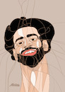 Cartoon: Mohamed Salah (small) by omar seddek mostafa tagged mohamed,salah