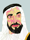 Cartoon: Sheikh Zayed (small) by omar seddek mostafa tagged zayed