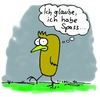 Cartoon: Spass (small) by timfuzius tagged spass,vogel,depression