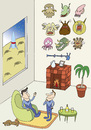 Cartoon: collection (small) by joruju piroshiki tagged collection,hunting,space,alien,science