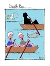 Cartoon: Death Row (small) by Kerina Strevens tagged death row boat water fear scream die dead