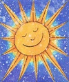 Cartoon: Shine (small) by Kerina Strevens tagged sun,shine,sunshine,bright,solar,sky,cartoon,fun,humour