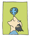 Cartoon: Earth (small) by ringer tagged earth,globe,balance,fragile
