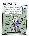 Cartoon: Moses (small) by Astu tagged religion,moses