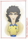 Cartoon: El Magico Gonzalez (small) by Freelah tagged jorge,magico,gonzalez,el,salvador