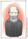 Cartoon: Heraclitus of Ephesus (small) by Freelah tagged heraclitus,of,ephesus
