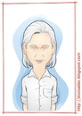 Cartoon: Julian Assange (small) by Freelah tagged julian assange wikileaks