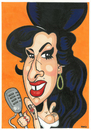 Cartoon: Amy Winehouse (small) by Ca11an tagged amy winehouse caricature