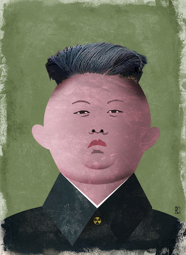 Cartoon: Kim Jong Un (medium) by Jan Rieckhoff tagged kim,jong,un,machthaber,diktator,nord,korea,unterdrücker,despot,tyrann,politiker,macht,portrait,karikatur,illustration,jan,rieckhoff,kim,jong,un,machthaber,diktator,nord,korea,unterdrücker,despot,tyrann,politiker,macht,portrait,karikatur,illustration,jan,rieckhoff