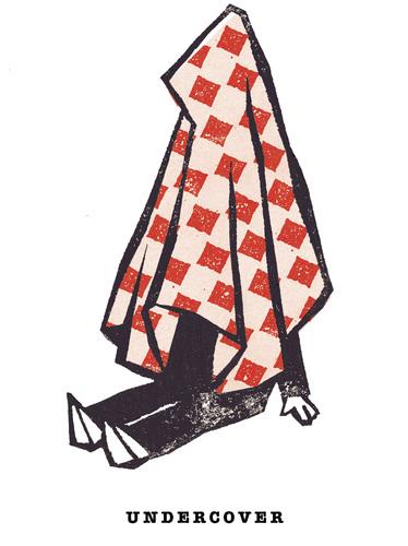 undercover von jan rieckhoff politik cartoon toonpool. Black Bedroom Furniture Sets. Home Design Ideas