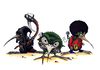 Cartoon: kiwi aggro (small) by hype tagged cartoon,kiwi,bird,comic,canvas