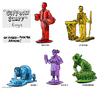 Cartoon: Support Staff plastic toys (small) by r8r tagged toy,plastic,play,playset,soldier,maid,gardener,janitor,waiter,immigrant,citizenship,usa,guest,worker