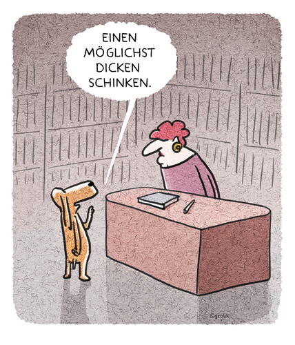 Cartoon: ...zum Festbeissen. (medium) by markus-grolik tagged grolik,cartoon,buchhandlung,belletristik,schmöker,literatur,hund,buchmesse,buch,leipzig,buch,buchmesse,hund,literatur,schmöker,belletristik,buchhandlung