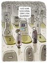 Cartoon: ... (small) by markus-grolik tagged friedhof,grabstein,ec,geld,geldautomat,pin,erben