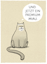 Cartoon: ... (small) by markus-grolik tagged kater,katze,haustier,miau,mensch,tier