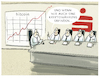 Cartoon: ... (small) by markus-grolik tagged kryptowährung,geld,bitcoin,börse,gewinne,digital,sparkasse,bank,zinsen,euro