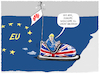 Cartoon: ...Brexit... (small) by markus-grolik tagged huawei,eu,europa,england,5g,london,brexit,digital,china,peking,funkmast,nato