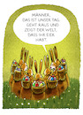 Cartoon: Frohe Ostern (small) by markus-grolik tagged ostern,osterhase,eier,ostereier,team,feiertage,frühling,kaninchen,karnickel,sonntag,teambuilding,zeitumstellung,grolik