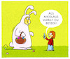 Cartoon: Frohe Ostern! (small) by markus-grolik tagged ostern,osterhase,familie,vater,sohn,kind,ferien,nikolaus,handy,foto,video,tradition