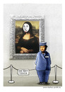Cartoon: mona lisa (small) by markus-grolik tagged mona,lisa