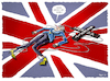 Cartoon: ..Niederlage.. (small) by markus-grolik tagged brexit,no,deal,misstrauensvotum,theresa,may,london,eu,europe,unterhaus