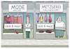 Cartoon: Shopping... (small) by markus-grolik tagged einzelhandel,corona,click,and,meet,lockdown,shoppen,shopping,pandemie,konsum