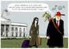 Cartoon: Trumps Auszug... (small) by markus-grolik tagged trump,donald,melania,washington,biden,joe,amtseinführung,präsident,usa,us,demokraten,republikaner